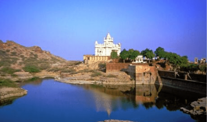 Balsamand Lake and Garden in Jodhpur District Rajasthan
