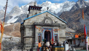 Char Dham kedarnath badrinath gangotri and yamunotri doors closure date declared