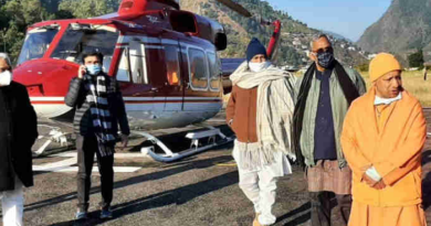 Uttar Pradesh government is building guest houses in Joshimath and Haridwar