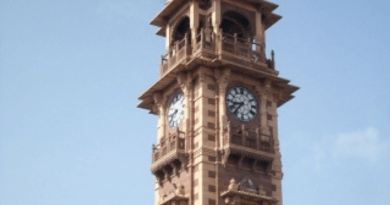 Alwar: Clock tower on Church Road is the first choice for tourists