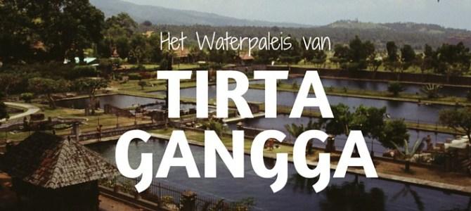 Het heilige water van Tirta Gangga