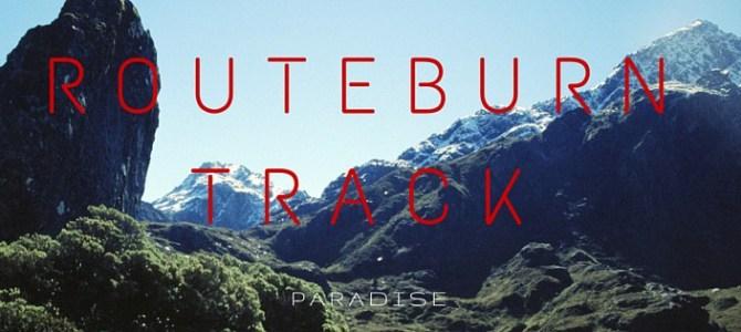Routeburn Track: het paradijs