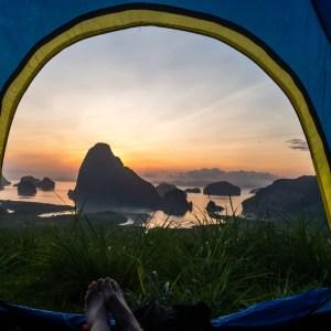 samet nangshe viewpoint camping sunrise