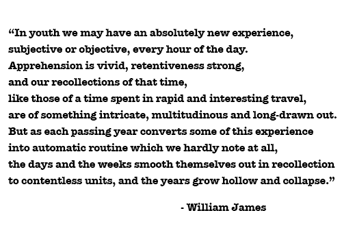 william james quote the principles of psychology