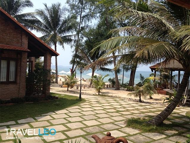 Пляж отеля Gold Coast Resort Phu Quoc остров Фукуок, Вьетнам