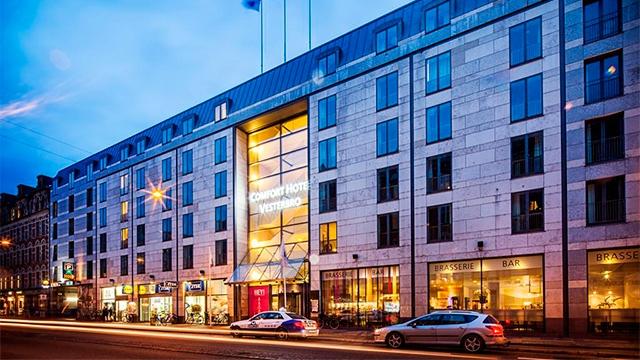 Отель Comfort Hotel Vesterbro3*