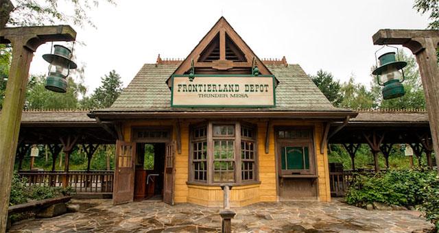 Frontierland в Disneyland Paris
