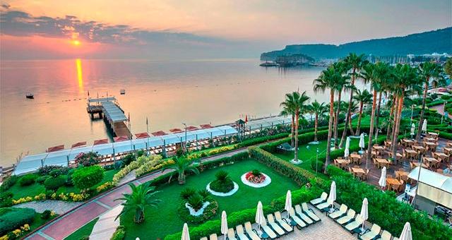 Отели Турции 5 звезд все включено первая линия