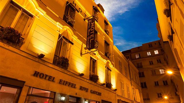 Hôtel Eiffel Rive Gauche- Отели Парижа 3 звезды в центре города