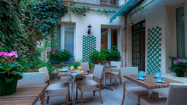 Hôtel de l'Alma Paris- Отели Парижа 3 звезды в центре города