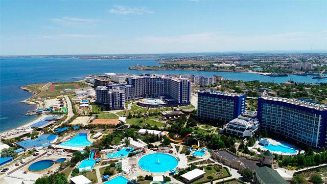 Отель Aquamarine Resort & SPA 5* Севастополь, Крым