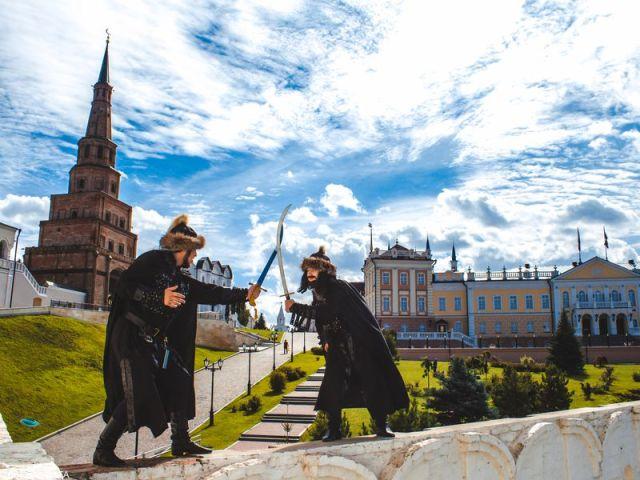 Групповая экскурсия-квест по Кремлю «Сказ Татарского Кота»