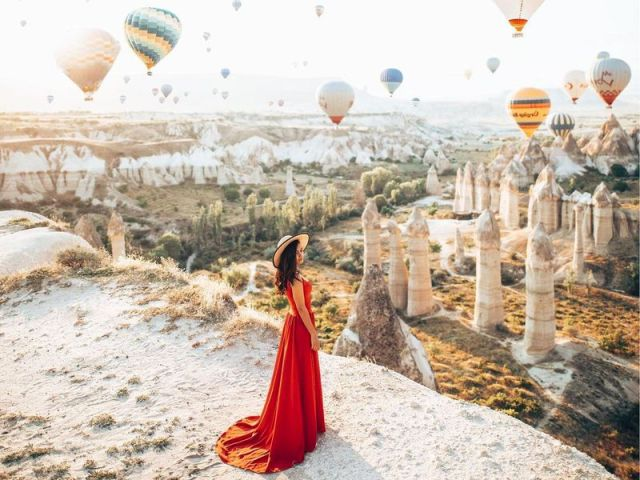 Экскурсия: Калейдоскоп Каппадокии — на 2 дня из Белека