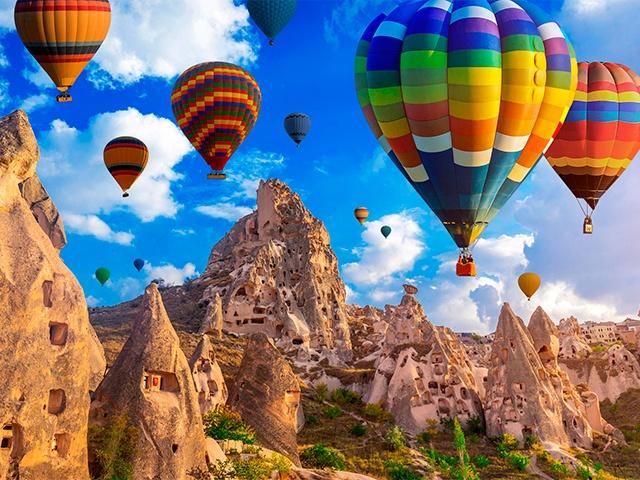 Экскурсии в Каппадокию в Турции на воздушные шары