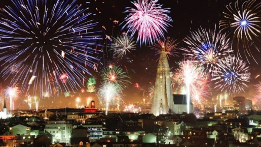 Image result for iceland new year fireworks