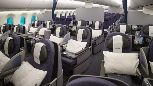 Image result for united airlines dreamliner business class