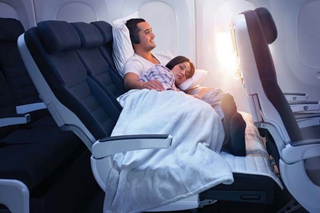 """Air New Zealand's """"Sky Couch"""""""