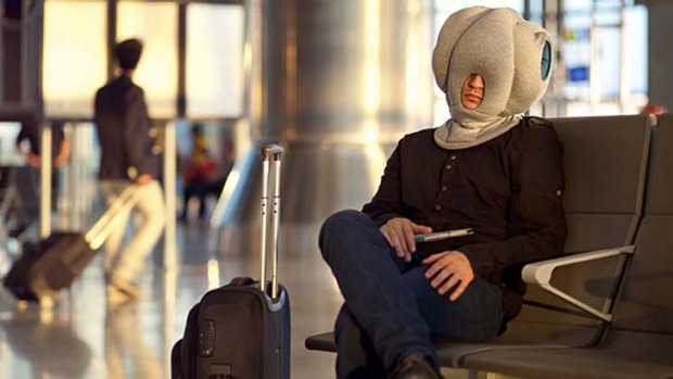 cure for jet lag meet the ostrich pillow