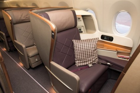Image result for a350 business class singapore airlines