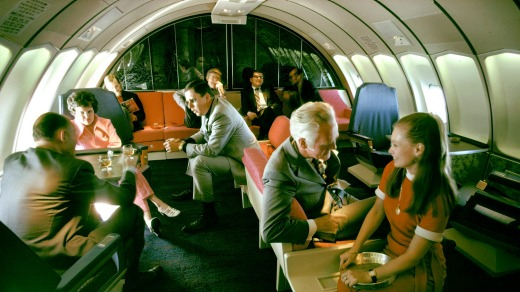 Times have changed since the golden age of air travel.