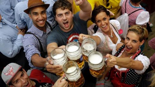 Oktoberfest: Germany knows how to do do beer culture.