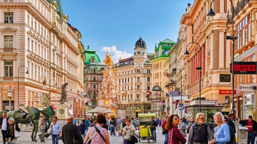 Vienna is one of Europe's most beautiful cities.