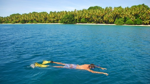 Go snorkelling in Papua New Guinea with Heritage Expeditions.