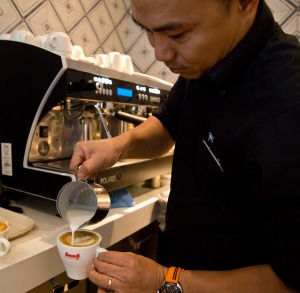 P&O are running courses for staff to improve their coffee making skills.