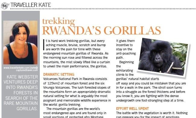 Trekking Rwanda's Gorillas