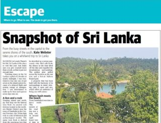 Sri Lanka Article