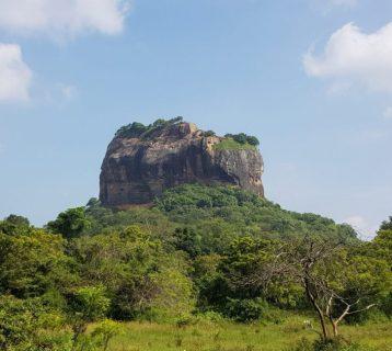 Lion Rock in Sri Lanka