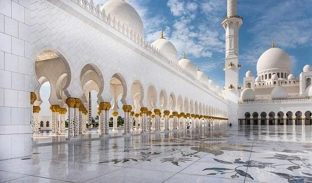 moschea bianca di abu dhabi