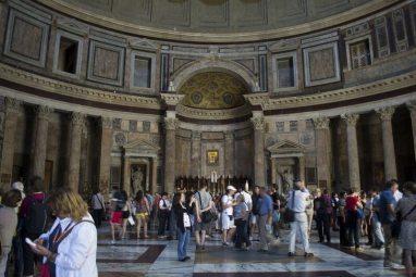Pantheon interni