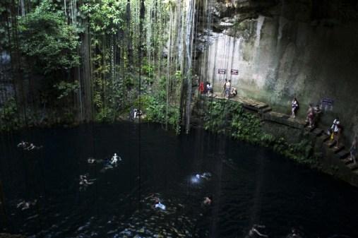 Cenote Messico 1