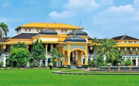 Maimoon Palace Sumatra
