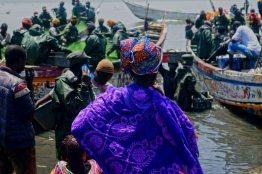 Mercato pescatori Saint Louis 2