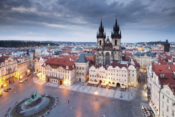 da aeroporto al centro di Praga