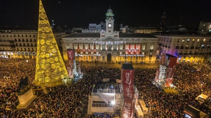 Capodanno 2017 in Europa e nel mondo - Madrid