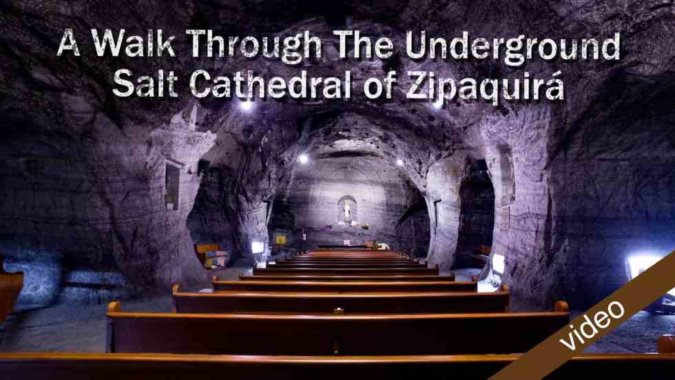 A Walk Through The Underground Salt Cathedral Of Zipaquirá