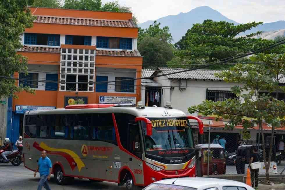 How to get to Santa Fe de Antioquia