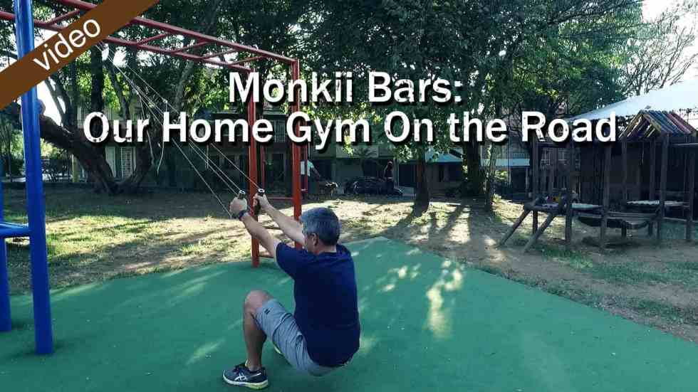 Monkii Bars: Our Home Gym On The Road