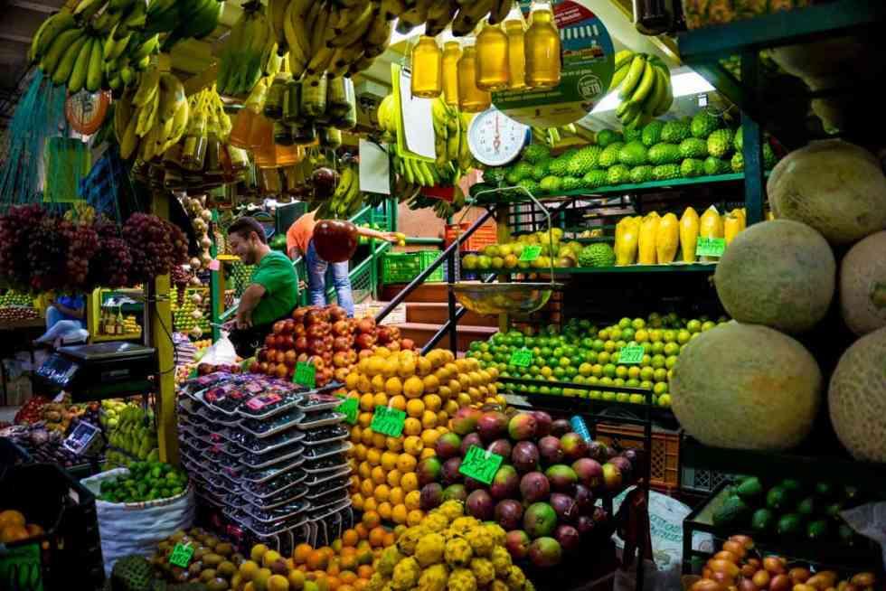 Medellin Minorista market