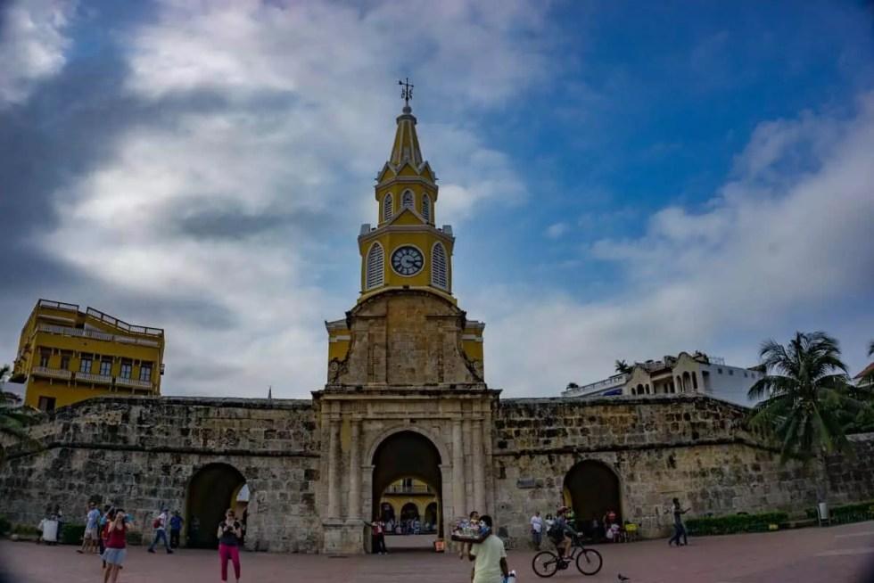 Old walled City Cartagena