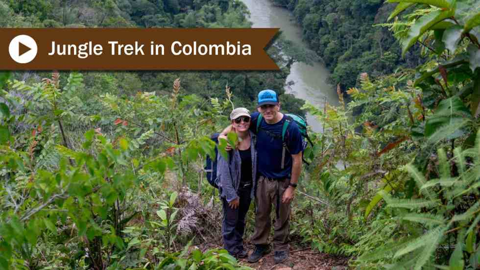 A Jungle Trek In Colombia