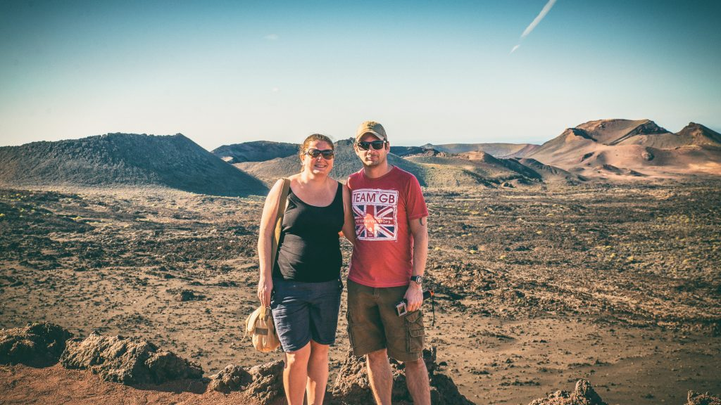 Paul, Tam, Travelling Book Junkie, About Us, Blog, Lanzarote, Canary Islands