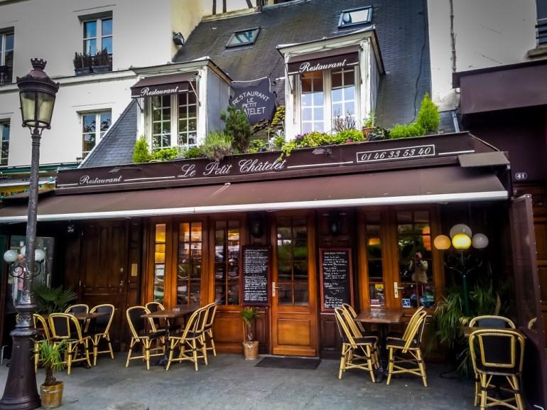le Petit Chatelet. Paris France