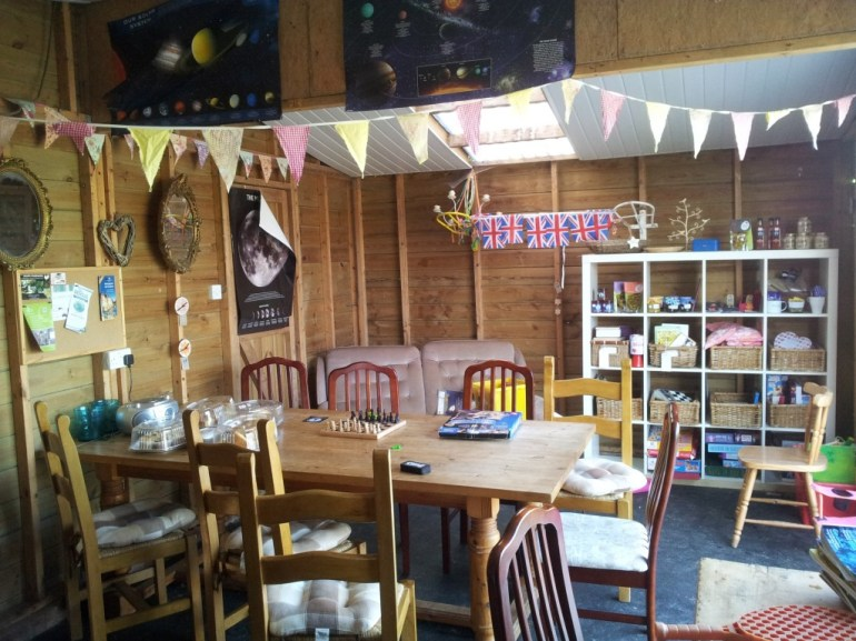 Honesty Shop at Brick Kiln Farm Suffolk Campsite UK