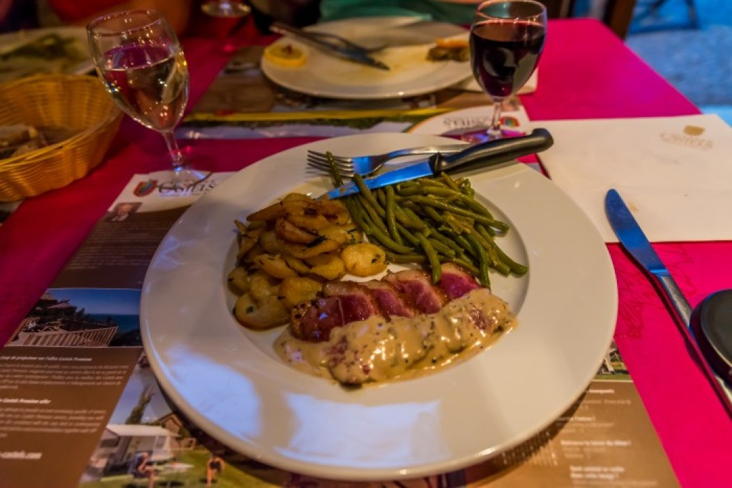 duck, dinner, france, camping, souillac, tasty, picture, cooked, french, meal,