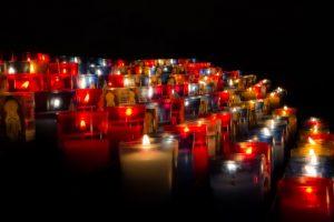 Sarlat Cathedral Candles