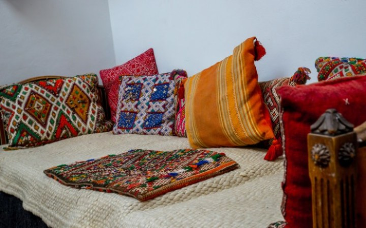 comfort zone at Riad Laayoun, Fes, Morocco